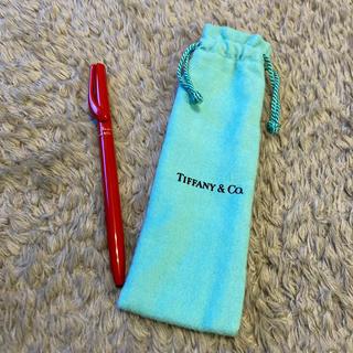 ティファニー(Tiffany & Co.)の未使用品【TIFFANY&Co.】ティファニー ボールペン エルサペレッティ 赤(ペン/マーカー)