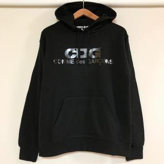 コムデギャルソン(COMME des GARCONS)の2020新作 新品 コムデギャルソン CDG ブラックロゴ フーディ パーカー(パーカー)
