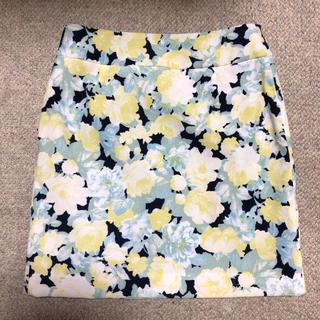 セシルマクビー(CECIL McBEE)の【CECIL  McBEE 花柄スカート】(ミニスカート)