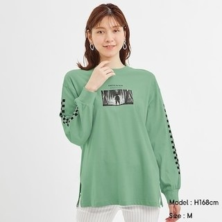 ジーユー(GU)のGU鬼滅の刃ロングスリーブS(Tシャツ(長袖/七分))