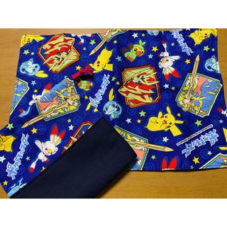 ポケモン(ポケモン)のポケモン 給食袋 ランチョンマット (ランチボックス巾着)
