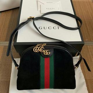 Gucci - GUCCI スモールオフィディア スエードクロスボディ ショルダーバッグ