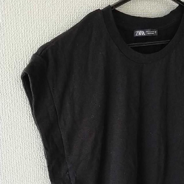 ZARA(ザラ)の【 値下げ】ZARA ザラ ノースリーブトップス レディースのトップス(カットソー(半袖/袖なし))の商品写真
