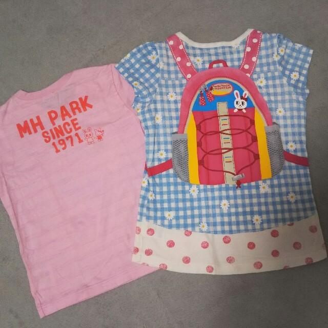 mikihouse(ミキハウス)の【中古】 ミキハウス Tシャツ キッズ/ベビー/マタニティのキッズ服男の子用(90cm~)(Tシャツ/カットソー)の商品写真