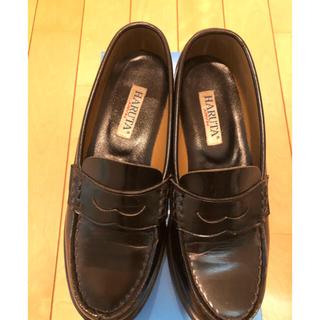 ハルタ(HARUTA)のハルタ ローファー黒 4505 24サイズ 3E(ローファー/革靴)