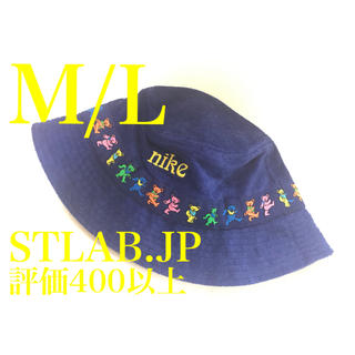 ナイキ(NIKE)のM/L NIKE SB GRATEFUL DEAD BUCKET HAT ハット(ハット)