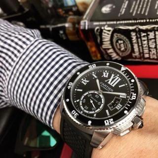 1% - カルティエ 自動巻き メンズ 腕時計