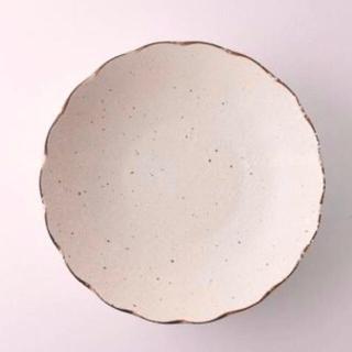 美濃焼 花型 輪花 カレー パスタ皿 深皿 2点