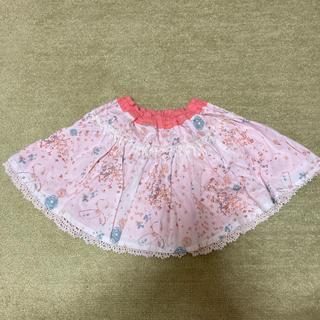 クーラクール(coeur a coeur)のクーラクール ファンタジー柄 リバーシブル スカート タグつき新品 90(スカート)