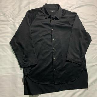 HARE - HARE ハレ サテンシャツ ブラック