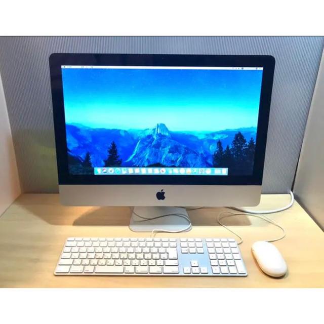 Apple(アップル)のアプリが盛り沢山。iMac 21.5inch Mid 2010 スマホ/家電/カメラのPC/タブレット(デスクトップ型PC)の商品写真