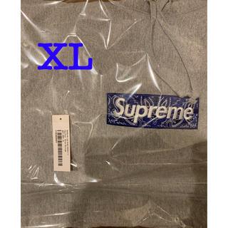 Supreme - supreme Bandana Box logo フーディ シュプリーム XL