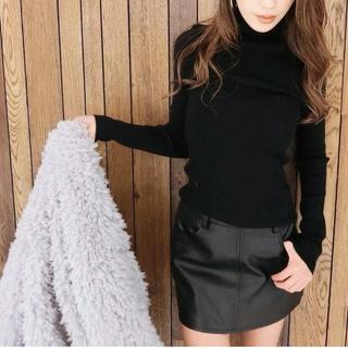 GYDA - GYDA レザースカート