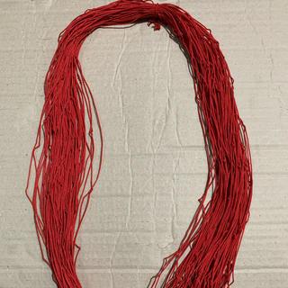 クレモナ糸   レッド(釣り糸/ライン)