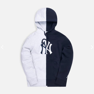 KITH NEW YORK YANKEES SPLIT HOODIE M