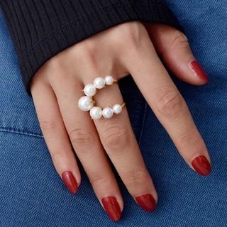 ジルスチュアート(JILLSTUART)の新品 指輪  シルバー アクセサリー リング ファッション 韓国 ジル(リング(指輪))