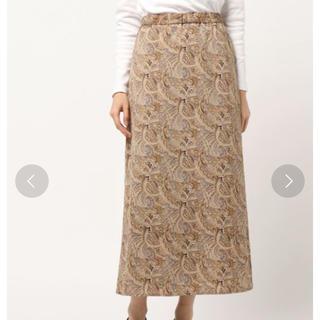 ローリーズファーム(LOWRYS FARM)のペイズリーカラーフレアスカート(ロングスカート)