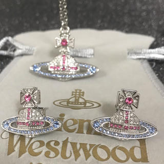 Vivienne Westwood - 新品 ネックレスピアスセット