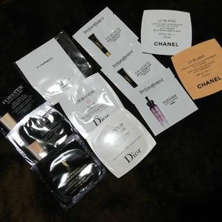 ディオール(Dior)のDior MAC YSL CHANEL 各試供品サンプル(サンプル/トライアルキット)