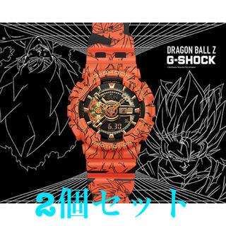 ジーショック(G-SHOCK)のドラゴンボール Gショックコラボ GA-110JDB-1A4JR(腕時計(デジタル))