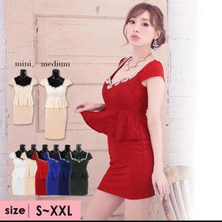 デイジーストア(dazzy store)のキャバ ドレス ペプラムタイトドレス retica(ナイトドレス)