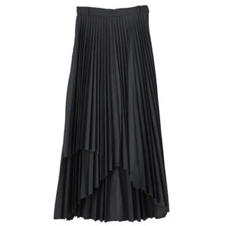 ENFOLD - CLANE プリーツスカート ブラック