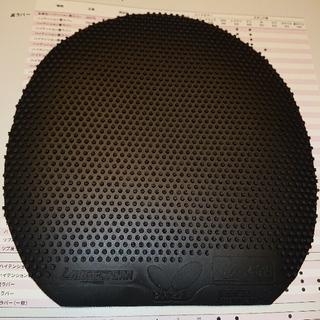 バタフライ(BUTTERFLY)の卓球 ラージボール用ラバー(超特厚 黒)(卓球)