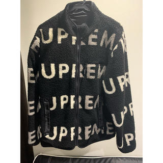 Supreme - supreme Reversible Logo Fleece Jacket