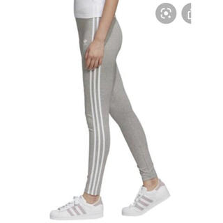 adidas - adidas アディダスオリジナルス タイツ レギンス グレー レディース 新品