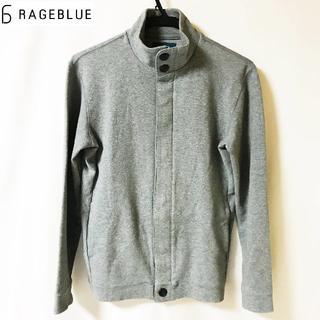 【RAGEBLUE】フルジップ フライフロント 綿ジャケット メンズ