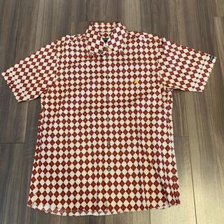 バーバリーブラックレーベル(BURBERRY BLACK LABEL)のBurberry Black label 半袖シャツ サイズ2(M)(シャツ)