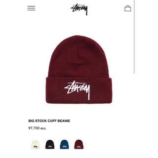 ステューシー(STUSSY)のSTÜSSY ニット帽(ニット帽/ビーニー)