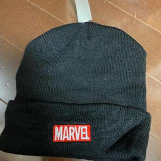 マーベル(MARVEL)の新品タグ付き マーベル ニット帽(帽子)