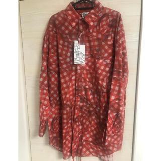 Vivienne Westwood - 定価4万近く ヴィヴィアン 新品タグつき 秋◎ シャツブルゾン