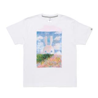 CUNE - CUNE 絵画部 Tシャツ 印象派 S キューン うさぎ