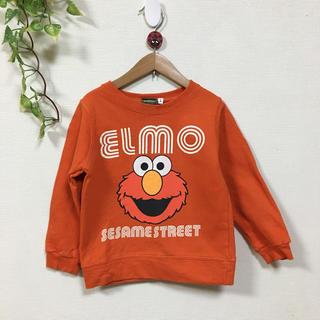 セサミストリート(SESAME STREET)のセサミストリート エルモ スウェット 4歳 100㎝(Tシャツ/カットソー)