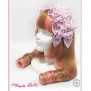 Angelic Pretty - Frilly rose カチューシャ ヘッドドレス