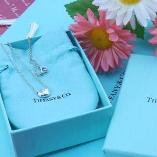 Tiffany & Co. - ☆新品☆未使用☆ティファニー ビーンネックレス ミニ