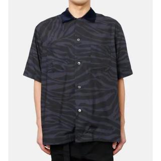 サカイ(sacai)のSacai20ss zebra-print shirt(シャツ)