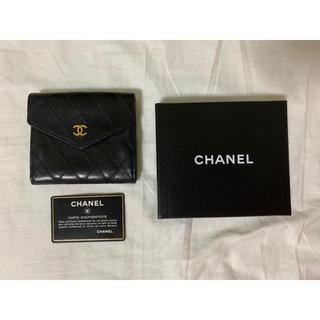 CHANEL - (美品)CHANE◕◕L シャネル 財布