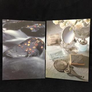 FELISSIMO - 新品アンティークハガキ ポストカード2枚セット リバーストーン ミラードレッサー