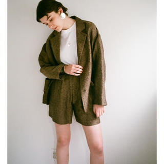 CLANE LAYER TWEED LOOSE J/K ツイード ジャガード