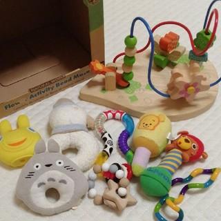 ミキハウス(mikihouse)の知育 玩具 MIKI HOUSE ルーピング ガラガラ ラトル 育児 子育て (知育玩具)