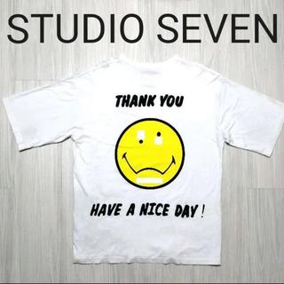 サンダイメジェイソウルブラザーズ(三代目 J Soul Brothers)のSTUDIO SEVEN Tシャツ 白(Tシャツ/カットソー(半袖/袖なし))