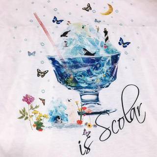 スカラー(ScoLar)のカキ氷チュール重ねプルオーバー(Tシャツ(半袖/袖なし))