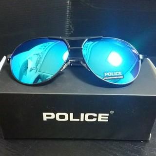 POLICE ミラー系サングラス 3点セット