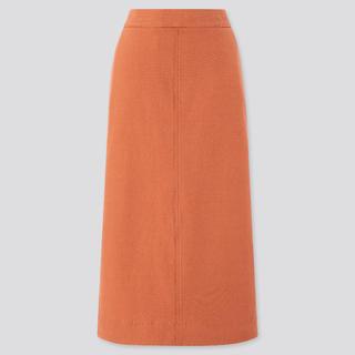 ユニクロ(UNIQLO)のデニムジャージースカート UNIQLO(ロングスカート)