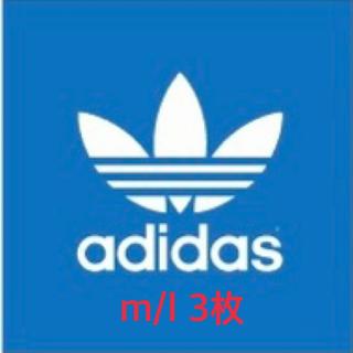 adidas - adidas アディダス M/L 3枚