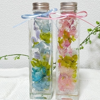 ハーバリウム 2colorセット★とアンティークハーバリウム(その他)