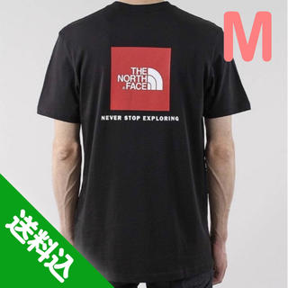 THE NORTH FACE - 【M】THE NORTH FACE ノース RED BOX TEE Tシャツ 黒